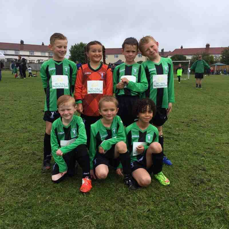Stretton Eagles Under 8 Black
