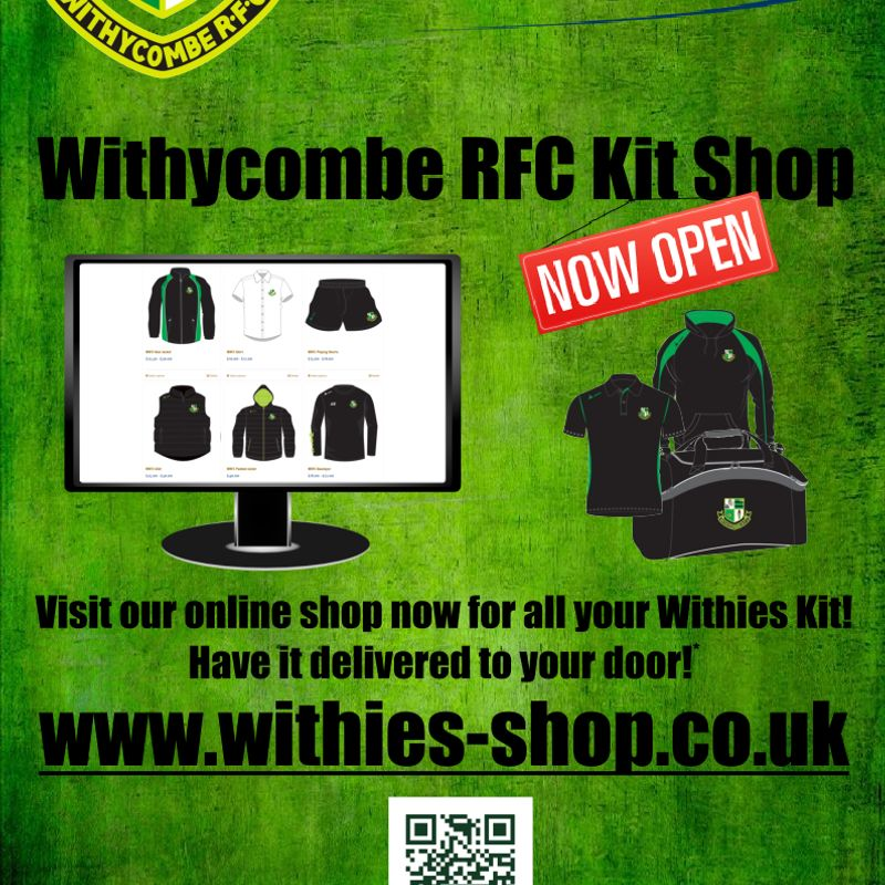 WRFC Kit Shop NOW OPEN!