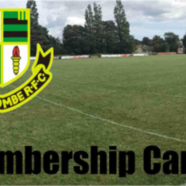 Membership Card Issues...