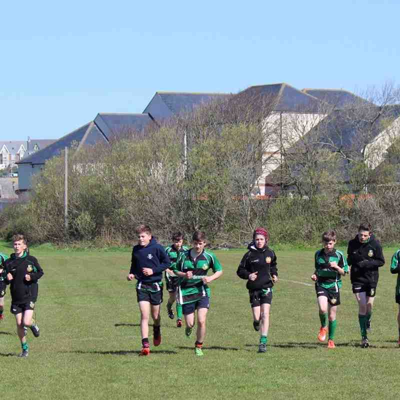 U13s V Bude on Tour