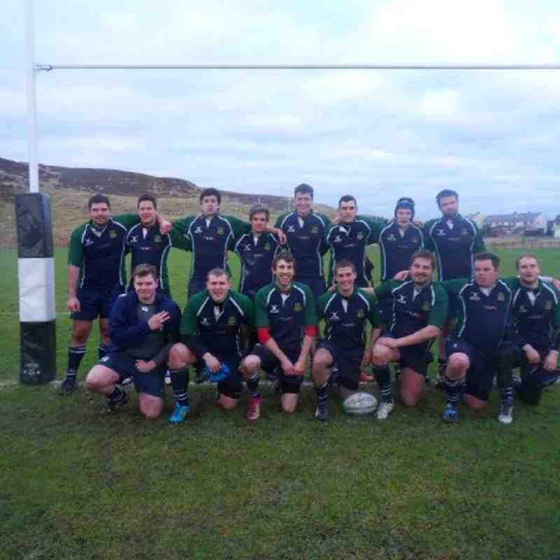AWRFC 2XV vs Shetland 19/01/13