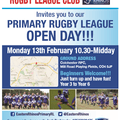 Eastern Rhino's Primary Open day 2017!!