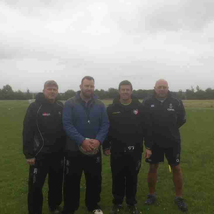 Anthony Allen coaches MRFC
