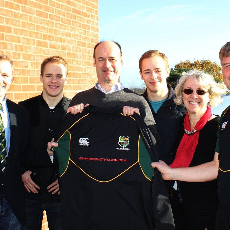 Academy receive new kit