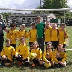 Meole Brace Juniors U9's 2014/15 season