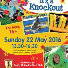 Its a Knockout Fundraiser Event Sunday 22nd May 2016