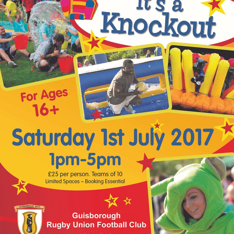 Its a Knockout Returns To Guisborough RUFC - Join Now