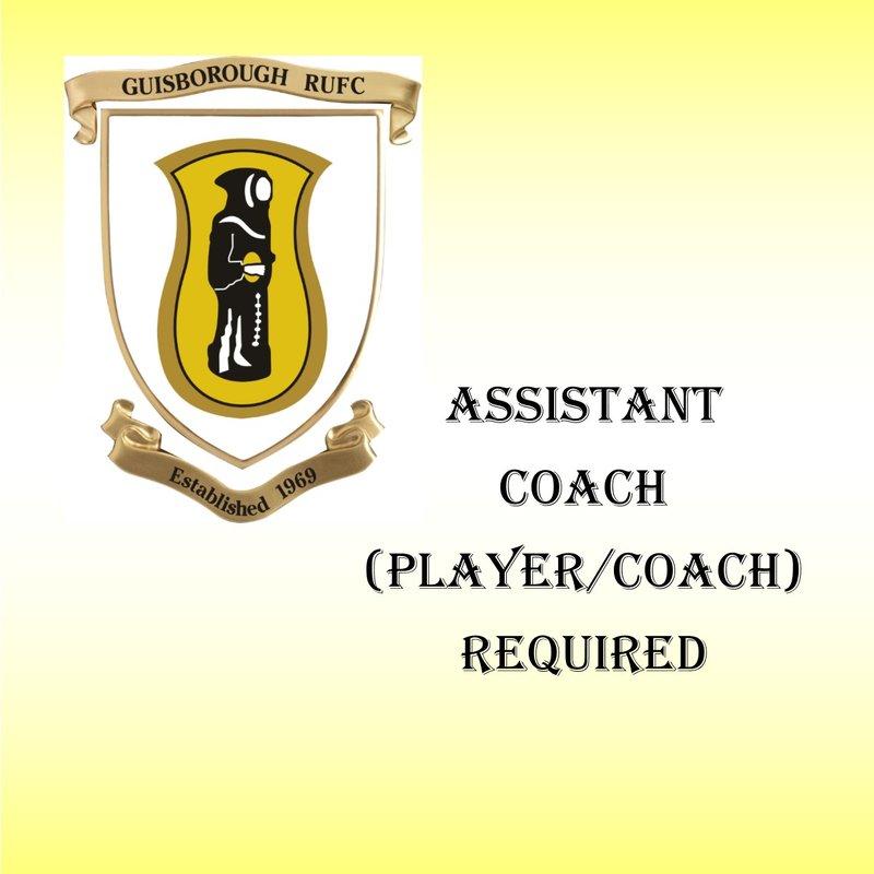 Assistant Coach / Player Coach Vacancy