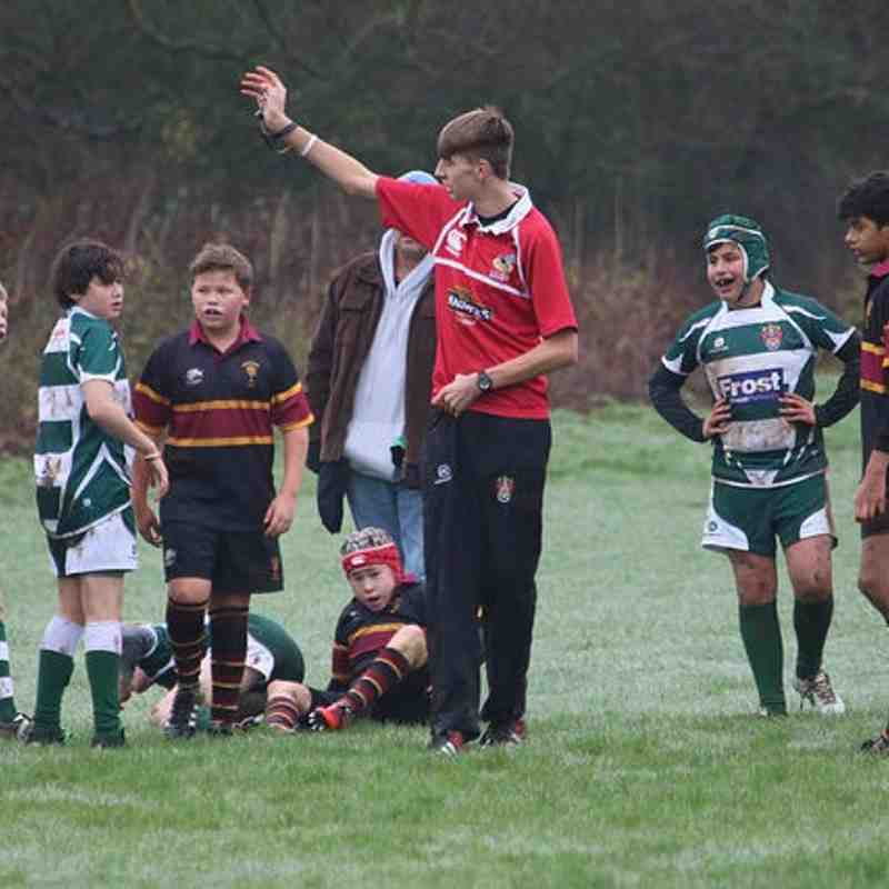 U13s v Drifters Dec 2015 by Nick Couldry