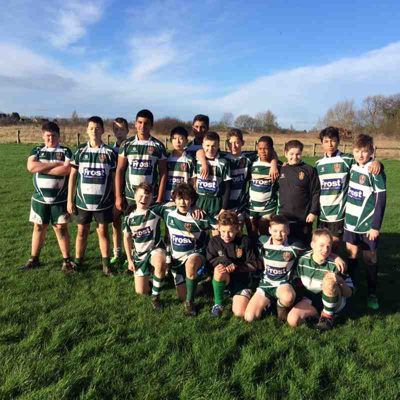 U13s v Chesham 10th Jan 2016 by Jeff O'Hara