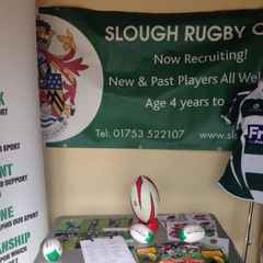 Slough RFC at Claycots School Fete
