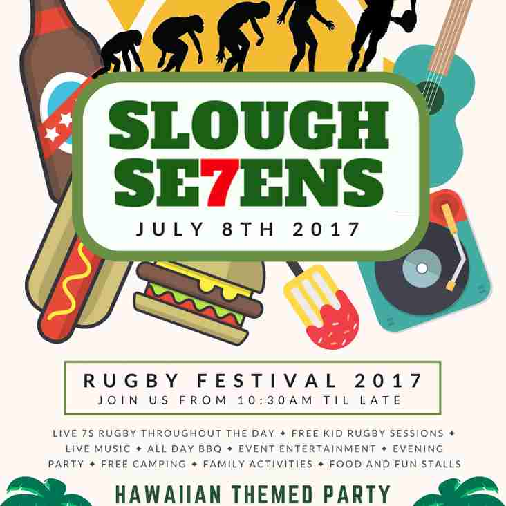 Slough 7s - 8th July!