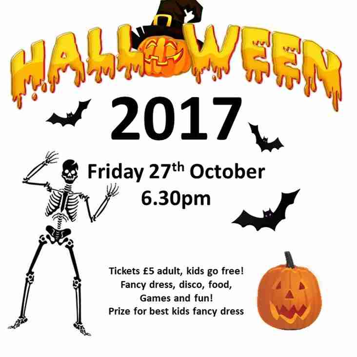Halloween Party - 27th Oct
