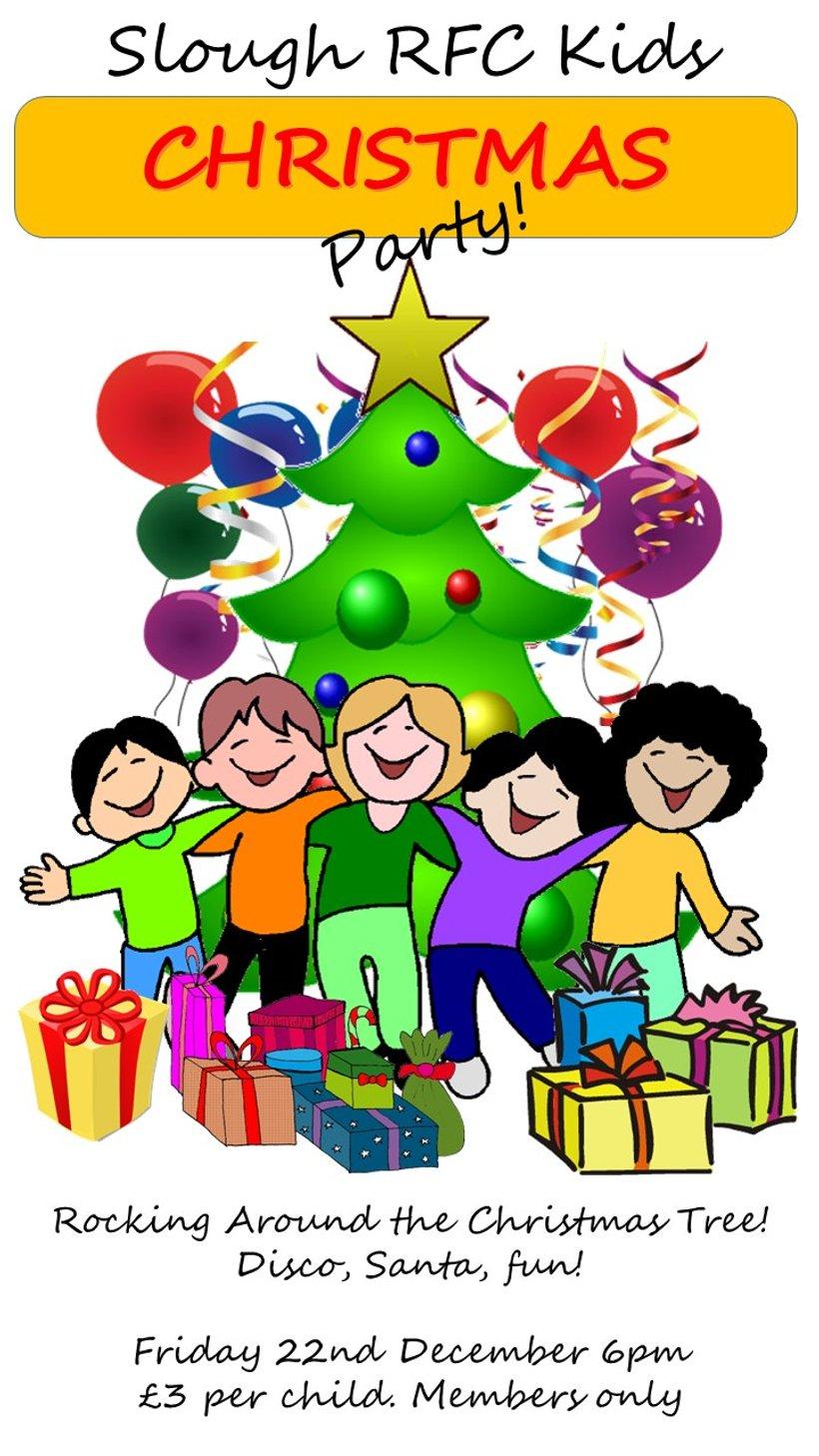 Slough RFC Kids Christmas Party - 22nd Dec - News - Slough RFC