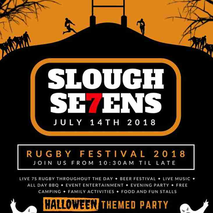 Slough 7s 2018 THIS Saturday!