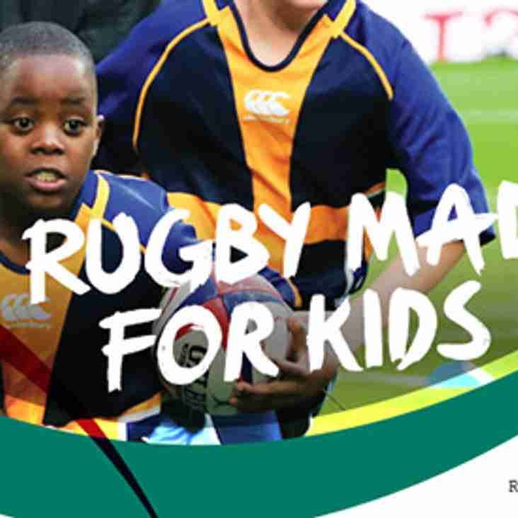 FREE Children's Rugby taster session- Sunday 25th November