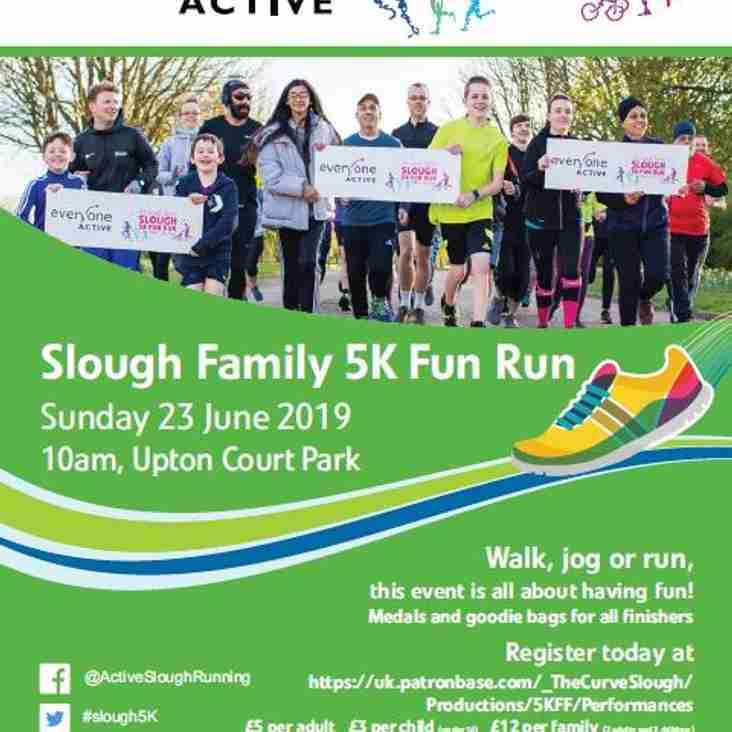 Slough Family 5K Fun Run - Sunday 23rd June