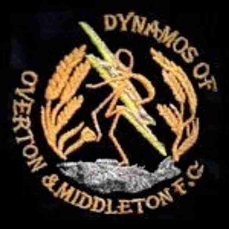TIC Dynamos Overton & Middleton & Reserves