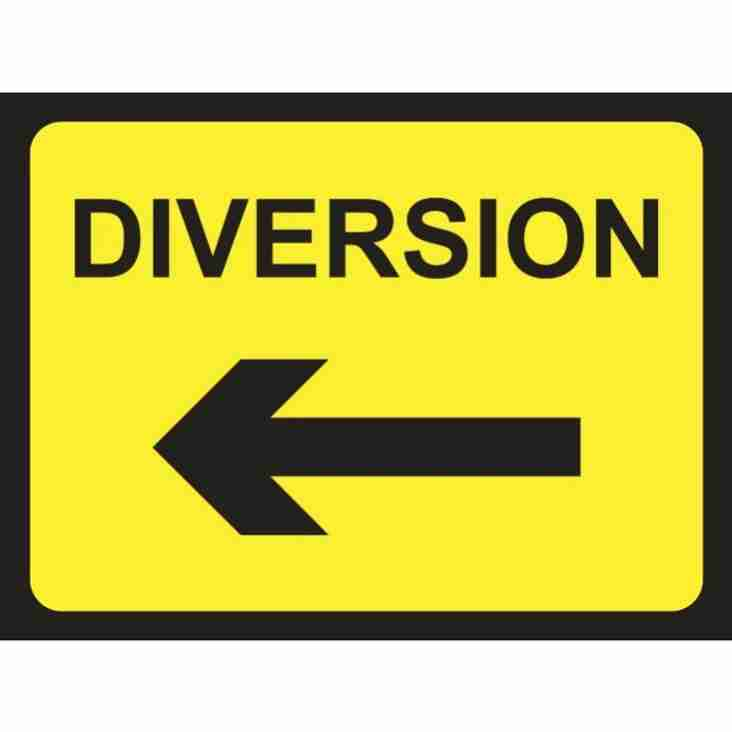 Bentham FC Road Diversion
