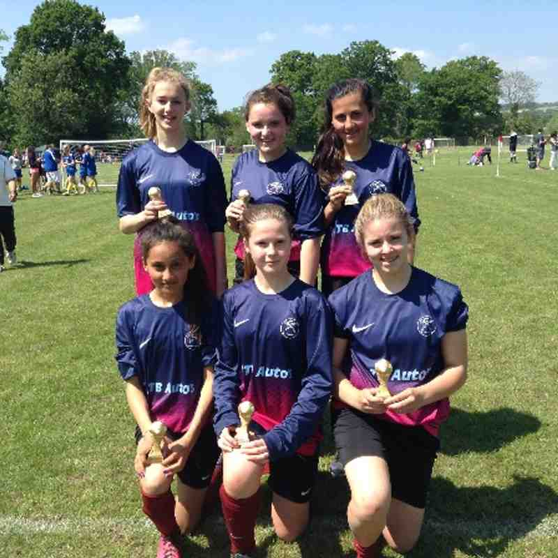 Girls U14 Runners up in 2 more Tournaments