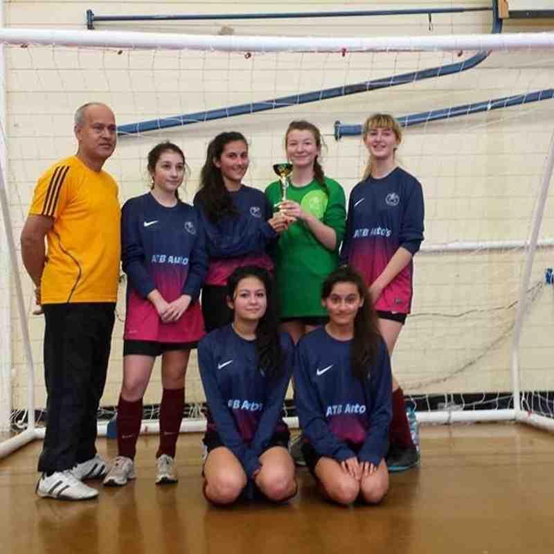 Futsal U15 -Swans winners of tournament