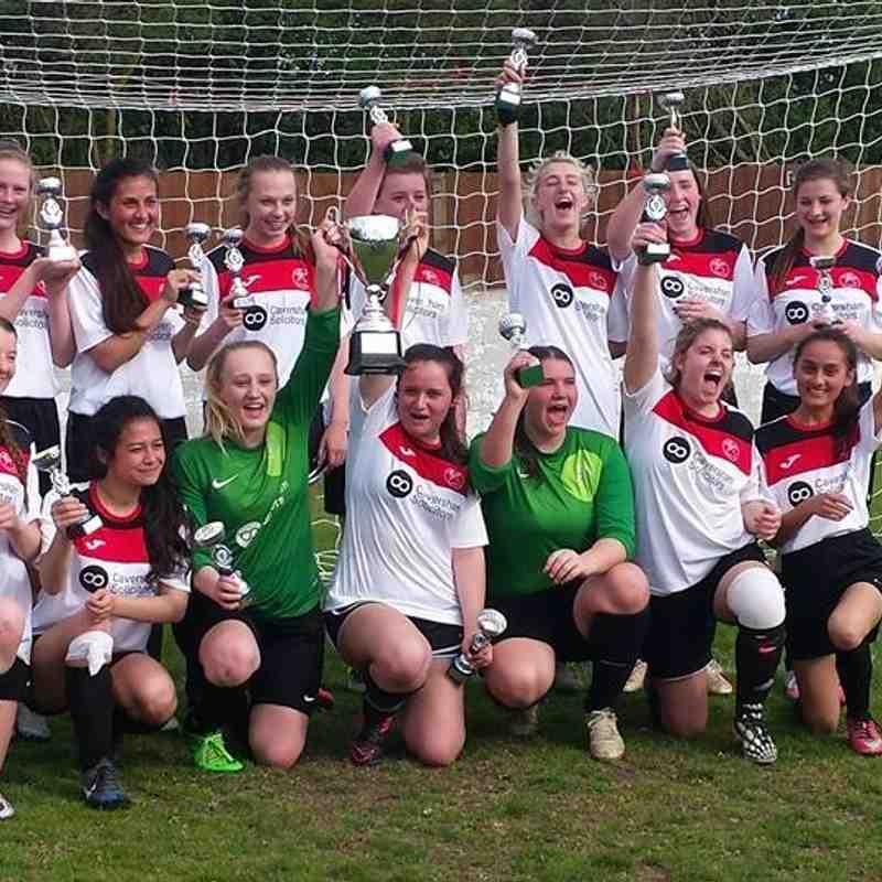 BCGFL U16 CUP winners