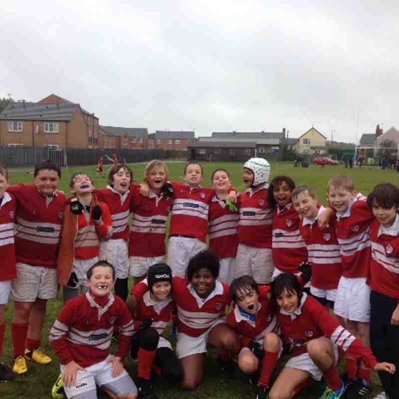 U12s vs Ashfield RFC