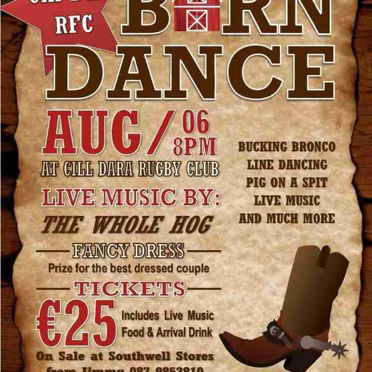 Cill Dara RFC Barn Dance