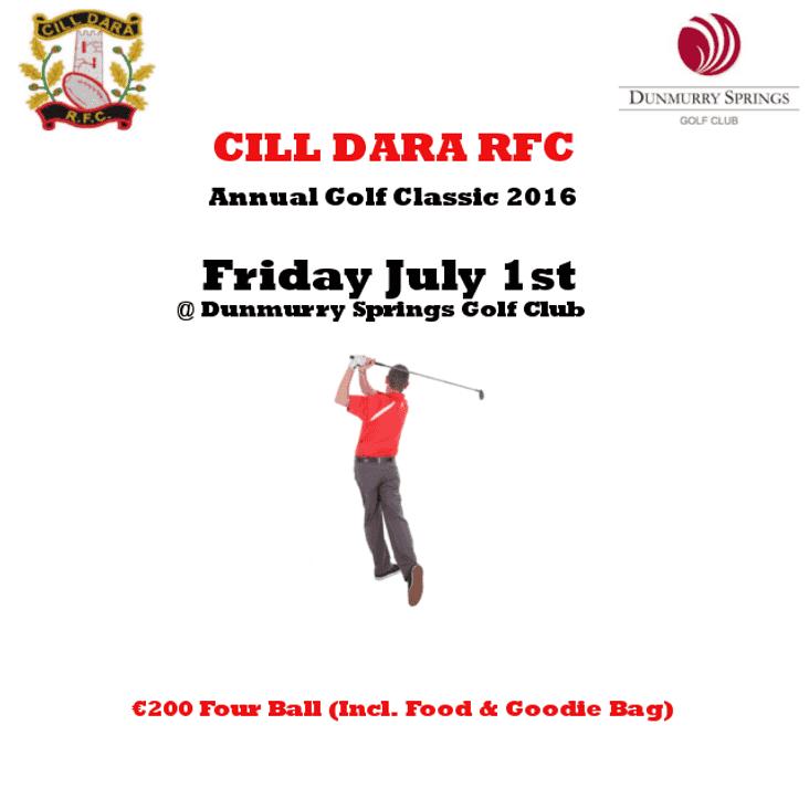 Cill Dara RFC Golf Classic