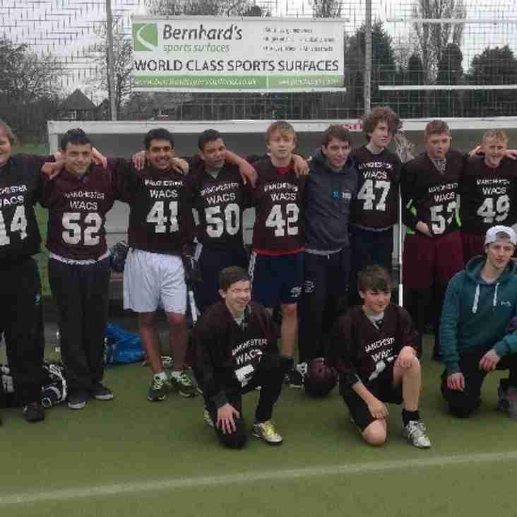 U16's March into plate semi-final