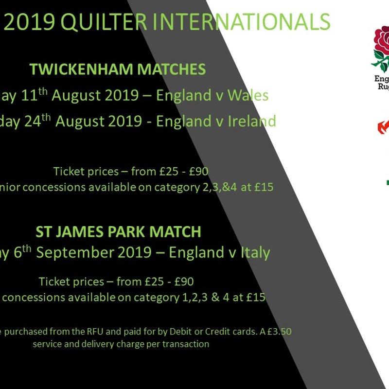 Summer 2019 Quilter Internationals