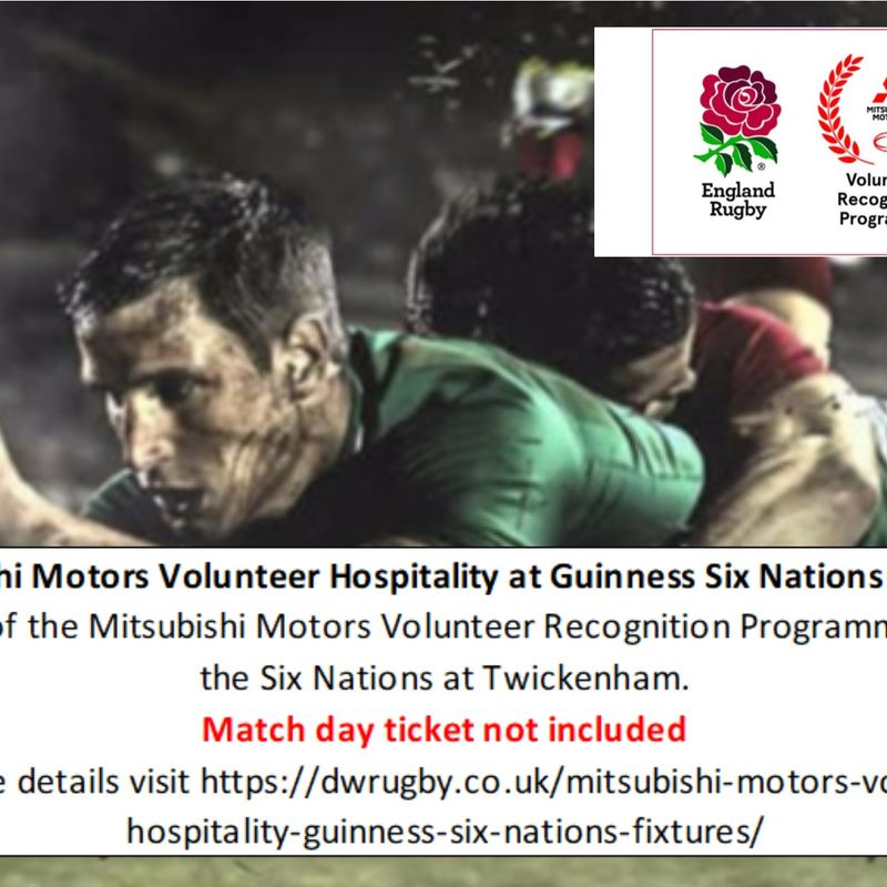 D & W supporting volunteers and girls rugby