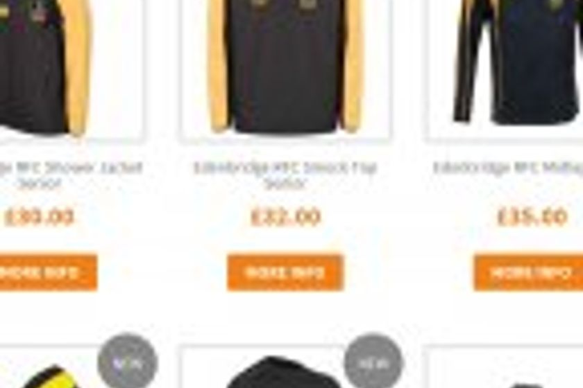 Club shop Christmas order deadline