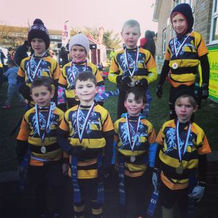 Edenbridge RFC U7's attend their first rugby festival hosted by Sidcup RFC