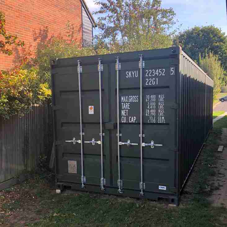 Storage compound works commence!