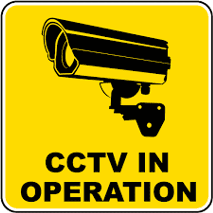 CCTV installed at the Pavilion