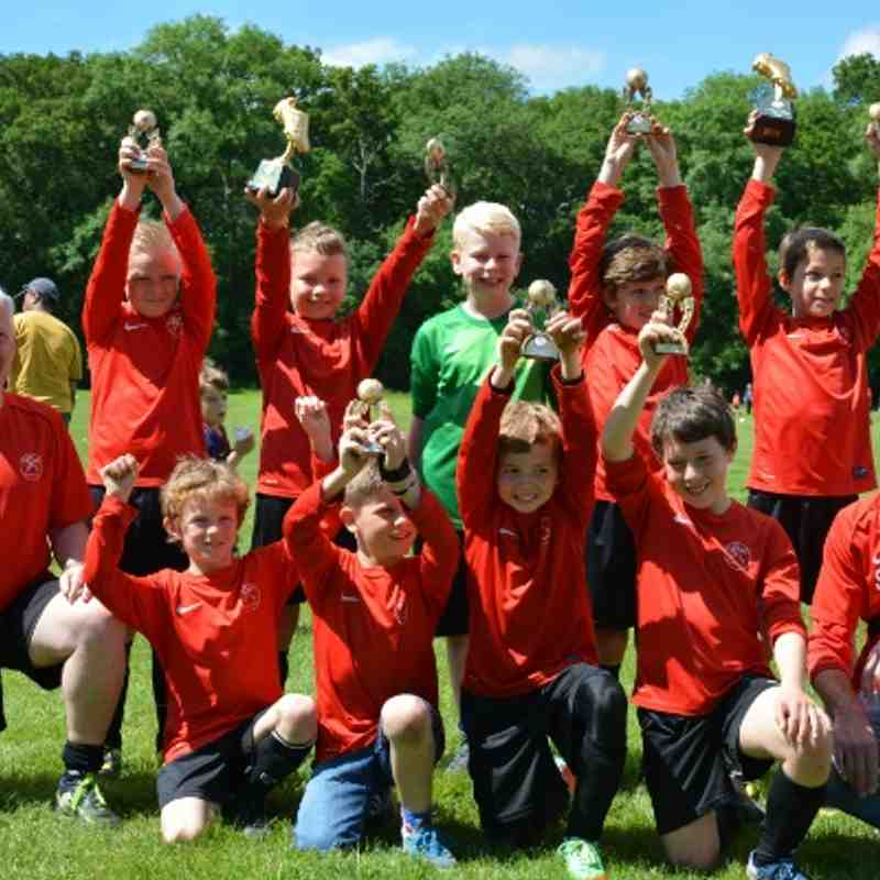 Under 10 Colts, Mustangs and Stallions Presentation Day