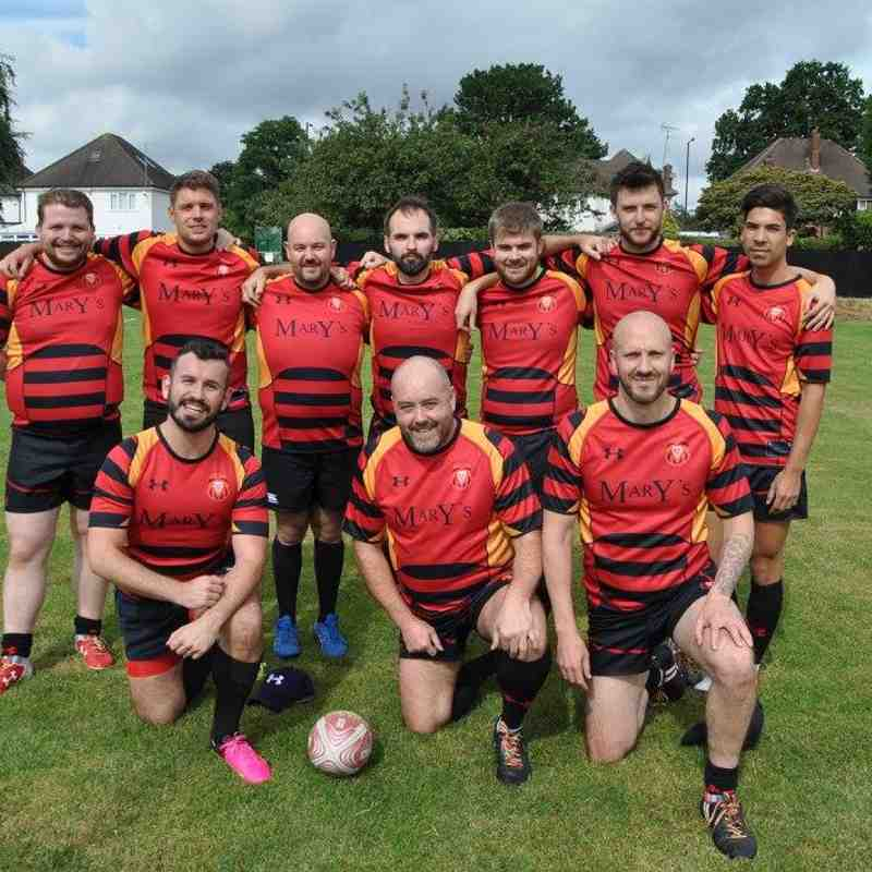 Cardiff Lions RFC at Touch My Brum 2017