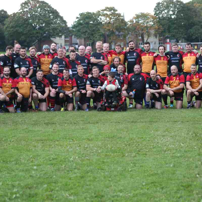 Cardiff Lions RFC Vs Celtic Rail Barbarians RFC - September 2017