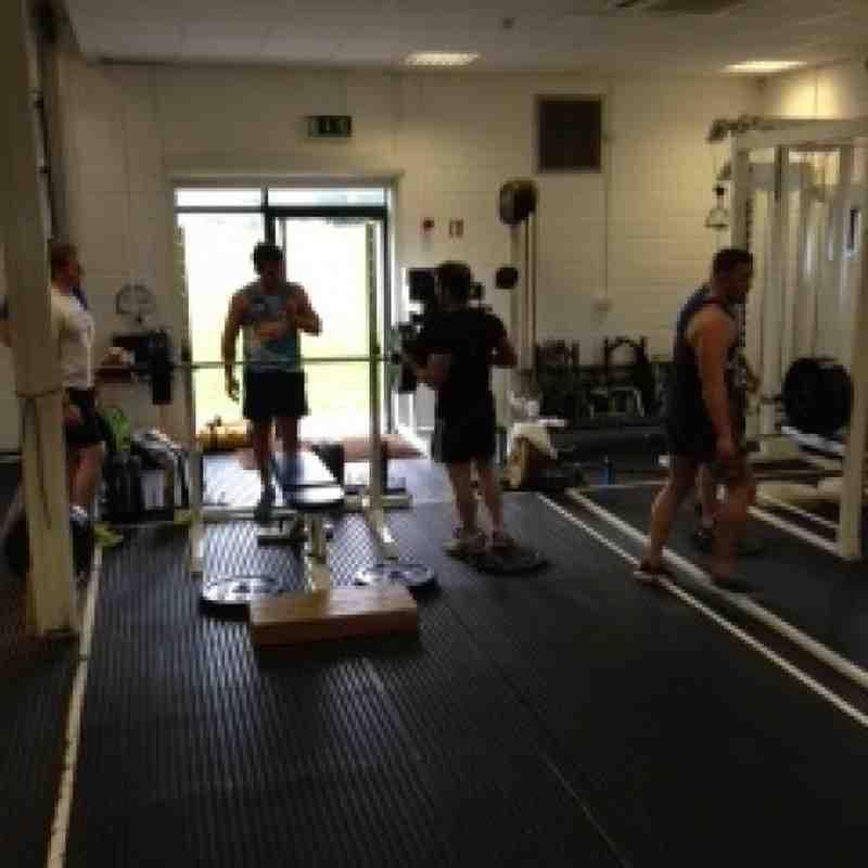 Pre-Season 2014/15 Strength & Conditioning Training