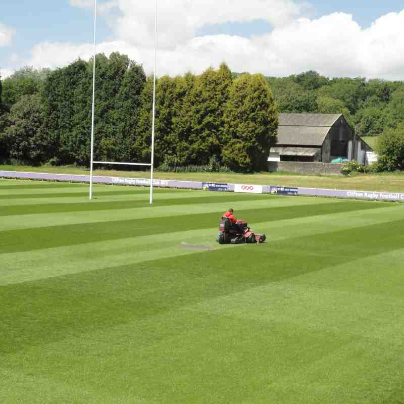 Clifton RFC Pitches Summer 2015