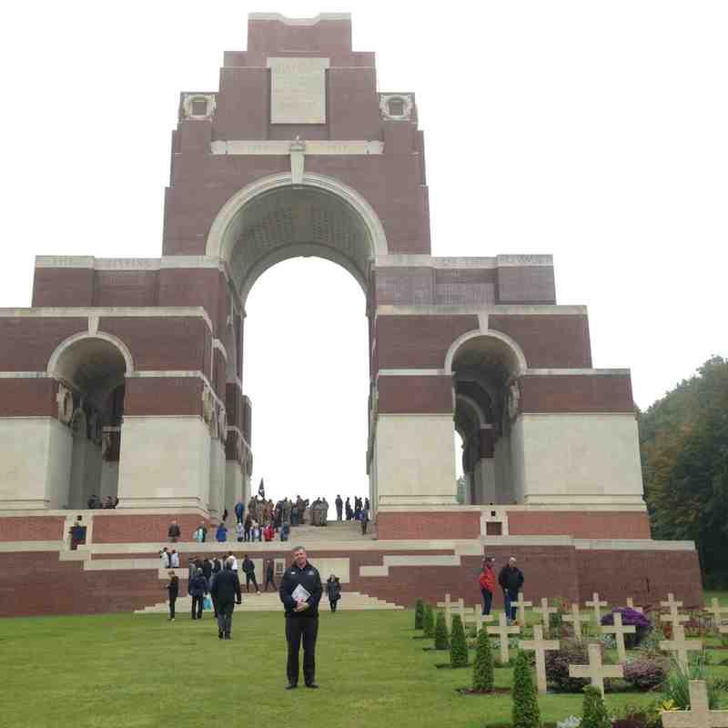 Clifton U16 Somme 100 Tour October 2016