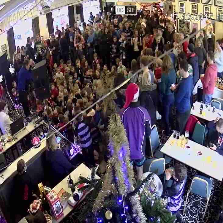 Santa Claus visits Clifton Rugby