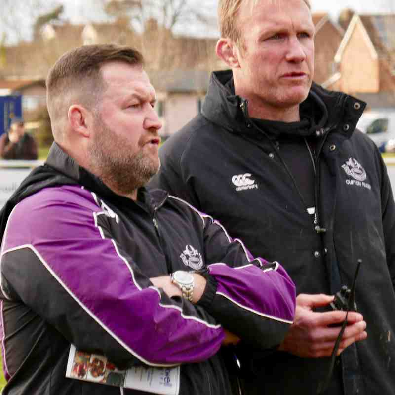 Taunton Titans v Clifton Rugby 17 Feb 2018 N2S