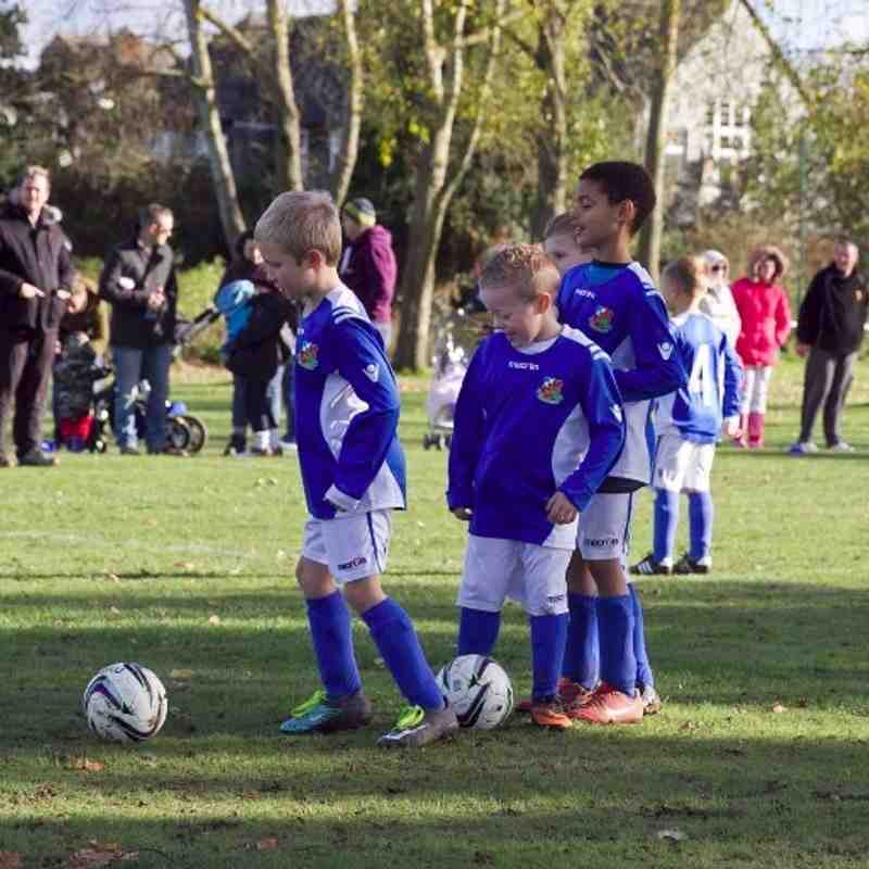 TFA Bushey u7b vs Wealdstone U7 Blues