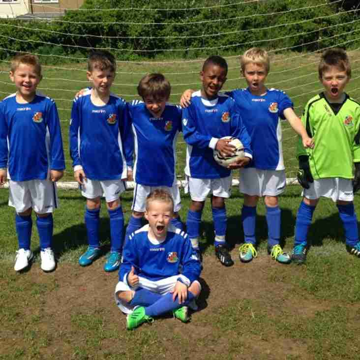 U7 Blue Finish Season Strongly with Excellent Win