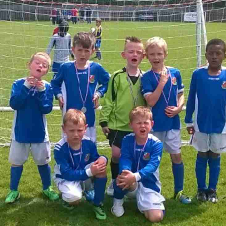 U7 Blue set the standard at Harefield Tournament