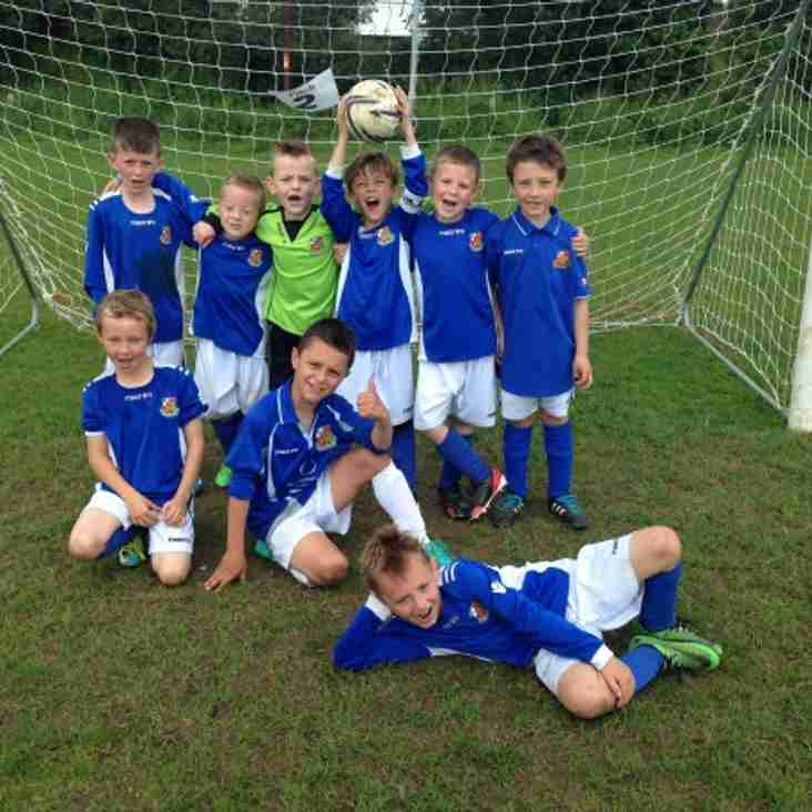 U7 Blues hit 4 in their best team performance to date