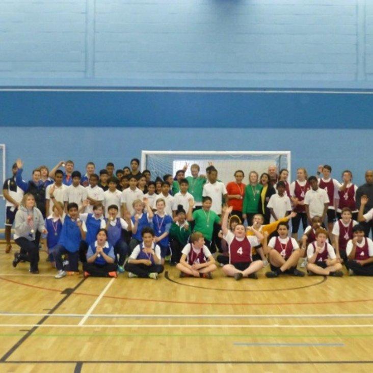 Northolt High School wins First ever Ealing handball school tournament<