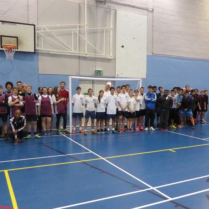 Northolt remains school to beat in Ealing U15 Handball tournament<